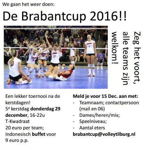 De Brabantcup 2016 @ sporthal 't T-Kwadraat    Tilburg   Noord-Brabant   Nederland