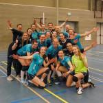 2017-03-27 Dames Volley Tilburg weer op de goede weg