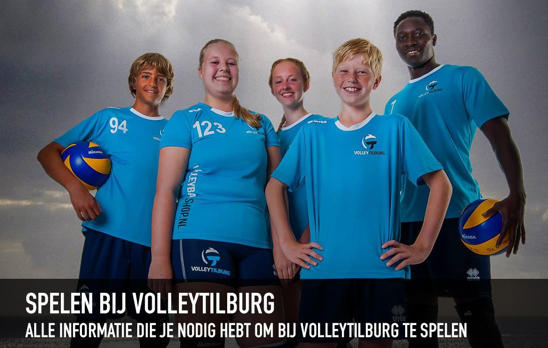 Spelen bij Volley Tilburg