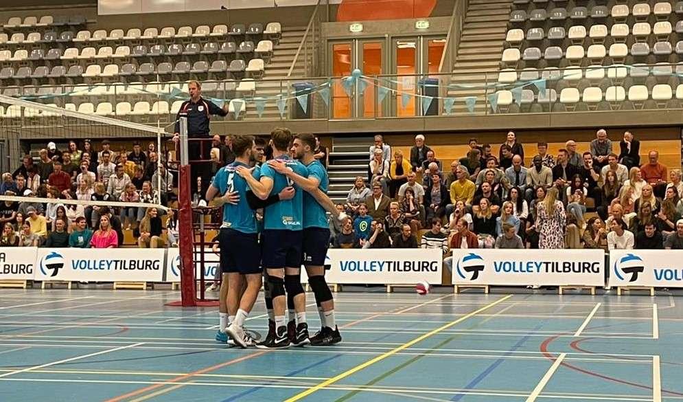 Volley Tilburg heren 1 klopt VV Utrecht in straight sets