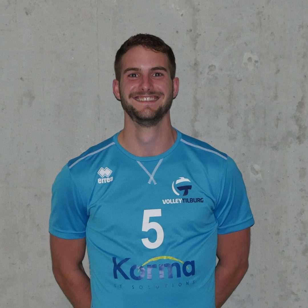 Vierde 'driepunter' voor Volley Tilburg heren 1